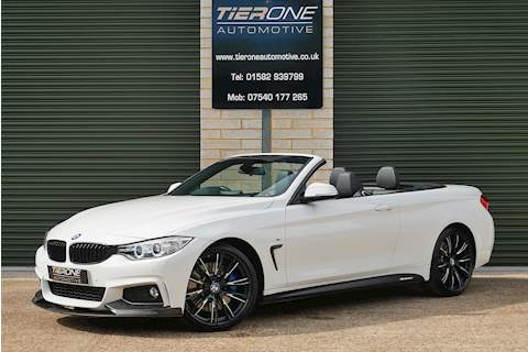 BMW 4 Series 435i M Sport Convertible - Large 0