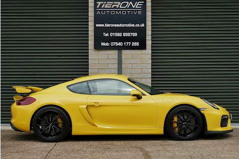 Cayman 981 GT4 Coupe 3.8 Manual Petrol