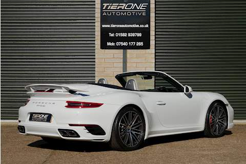 911 991 Turbo Convertible 3.8 Automatic Petrol