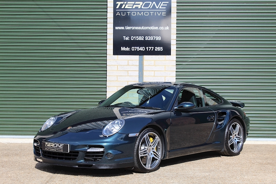 911 Turbo Tiptronic S Coupe 3.6 Automatic Petrol