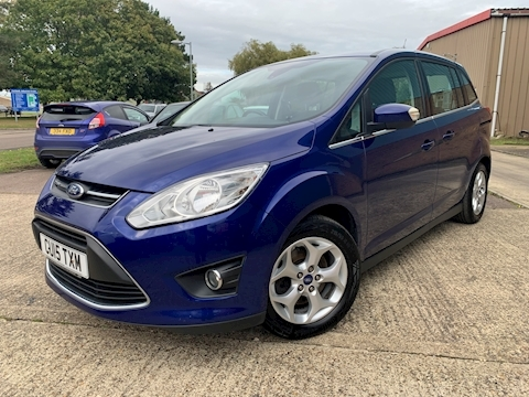 C-Max Grand Zetec Tdci Mpv 1.6 Manual Diesel