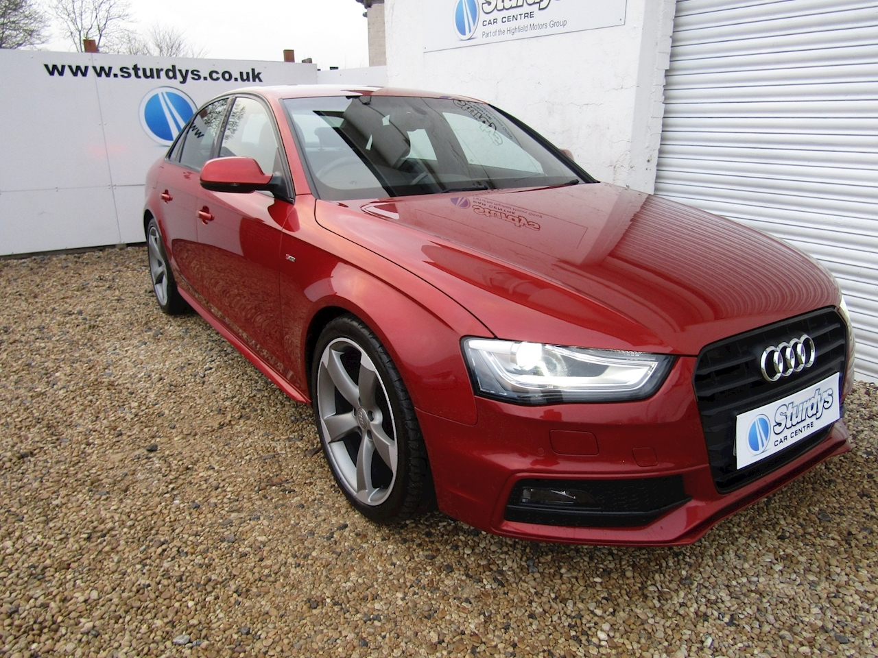 A4 Black Edition Saloon 2.0 Manual Diesel
