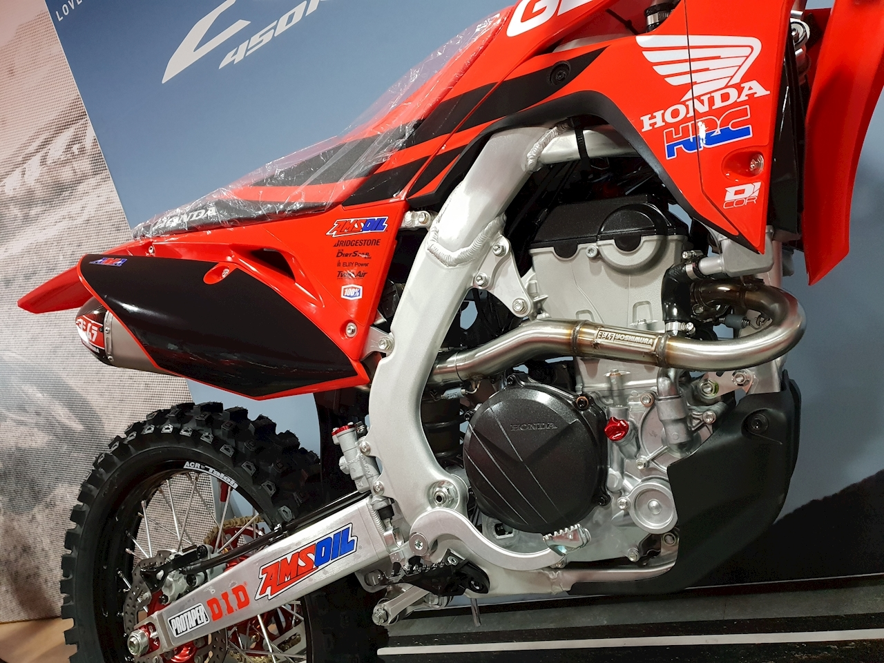 2020 CRF250R GEICO Motocross Honda Off-Road 250 Manual Petrol