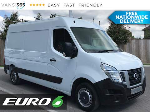 Nissan Nv400 2.3Dci MWB High Roof Euro 6 2.3 5dr Panel Van Manual Diesel