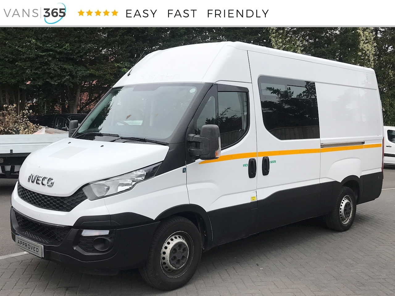 Used 2015 Iveco Daily 2 3HPi 35S13v MWB Mess Van 2 3 5dr Panel Van