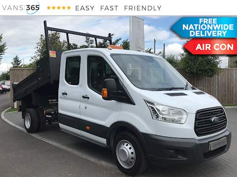 Ford Transit 2.2TDCi 350 L3 LWB DCB Tipper 2.2 4dr Tipper Manual Diesel