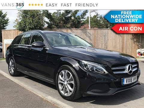 Mercedes-Benz C Class 2.1CDi C220 D Sport Estate 2.1 5dr Car Automatic Diesel