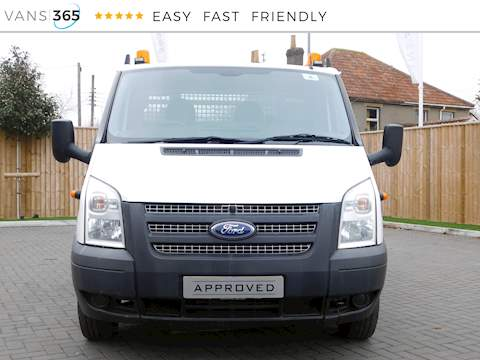 Ford Transit 350 C/C Drw 2.2 2dr Dropside Manual Diesel