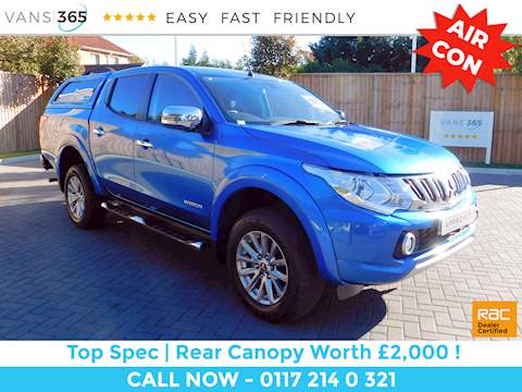 Mitsubishi L200 Di-D 4X4 Warrior Dcb 2.4 5dr Pick Up Manual Diesel