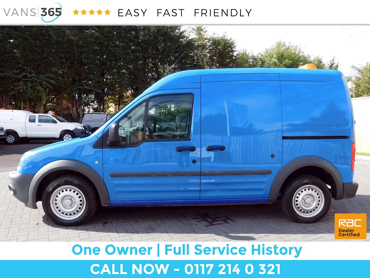 Used 2012 Ford Transit Connect T230 Hr P/V Vdpf 1.8 5dr Small Van Manual  Diesel For Sale in Bristol | Vans 365
