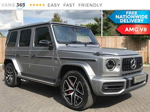Mercedes-Benz G-Class Amg G 63 4Matic 4.0 V8 4.0 5dr Car Automatic Petrol