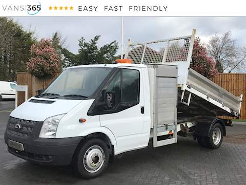 Ford Transit 350 125 2.2TDCi  Single Cab Tipper 2.2 2dr Tipper Manual Diesel