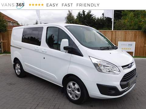 Ford Transit Custom 290 Limited Crew Van SWB 2.0 5dr Crew Cab Back Automatic Diesel