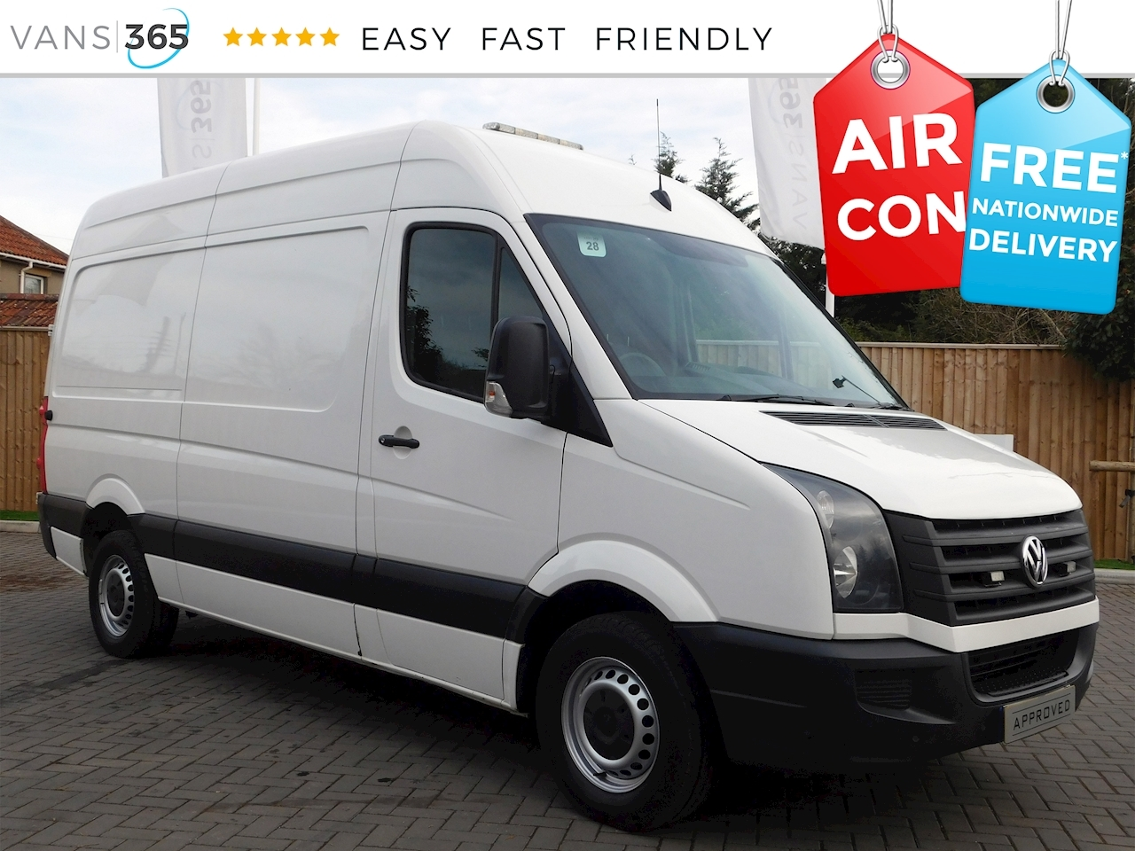 a4d97138dd Used 2014 Volkswagen Crafter Cr35 2.0Tdi MWB High Roof 2.0 5dr Panel ...