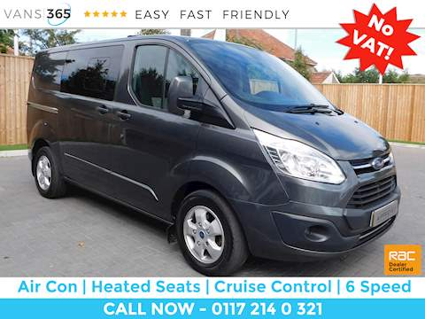 Ford Transit Custom 290 Limited Lr Dcb 2.0 6dr Crew Cab Back Manual Diesel