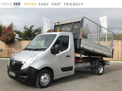 Vauxhall Movano R3500 L2h1 2.3CDTi Caged Tipper 2.3 2dr Tipper Manual Diesel