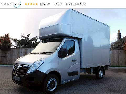 Vauxhall Movano F3500 L2h1 2.3 Cdti Luton with Tail Lift 2.3 2dr Luton Van Manual Diesel