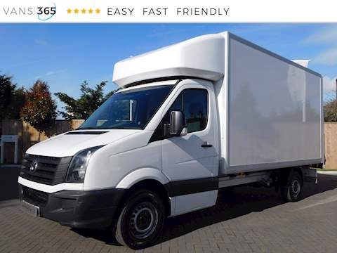 Volkswagen Crafter Cr35 2.0Tdi LWB Luton with Tail Lift 2.0 2dr Luton Van Manual Diesel