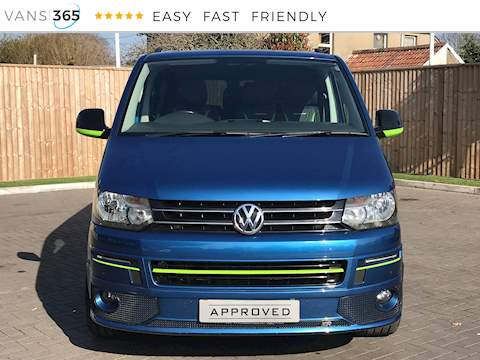 Volkswagen Transporter T30 2.0Tdi Highline DSG 9 Seater 2.0 5dr Van With Side Windows Automatic Diesel
