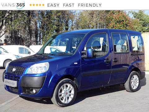 Fiat Doblo 1.4petrol 8V Dynamic Wheelchair Acces 1.4 5dr Mpv Manual Petrol
