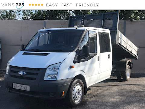 Ford Transit 350 2.4TDCI Lwb Double Cab Tipper 2.4 4dr Tipper Manual Diesel