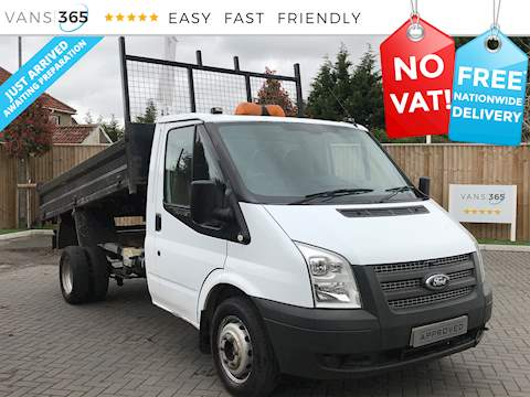 Ford Transit 350 2.2TDCI Single Cab MWB Tipper 2.2 2dr Tipper Manual Diesel