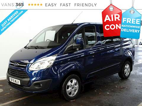 Ford Transit Custom 290 Limited SWB L1 H1 2.2TDCI 125PS Kombi 2.2 5dr Crew Cab Back Manual Diesel
