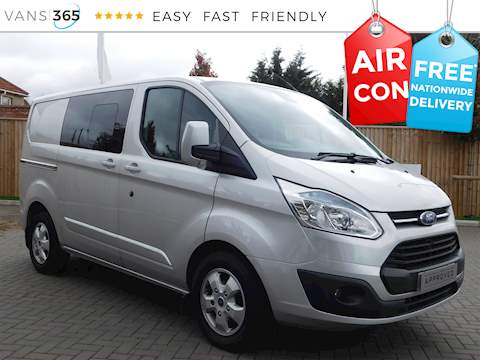 Ford Transit Custom 290 Limited Crew Cab 2.2TDCI SWB 2.2 6dr Panel Van Manual Diesel
