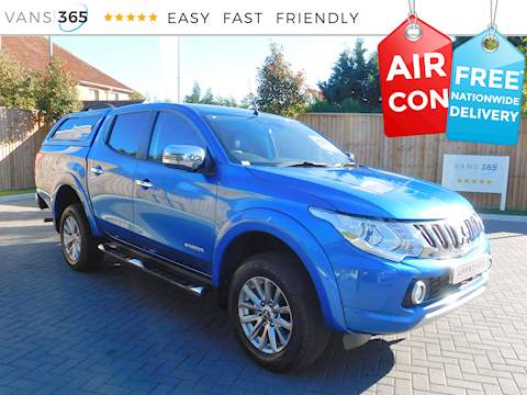 Mitsubishi L200 Di-D 4X4 Warrior Dcb 2.4 4dr Pick Up Manual Diesel