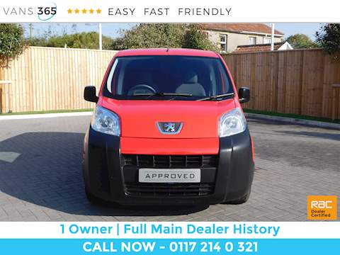 Peugeot Bipper 1.2 Hdi SWB 4dr Small Van Manual Diesel