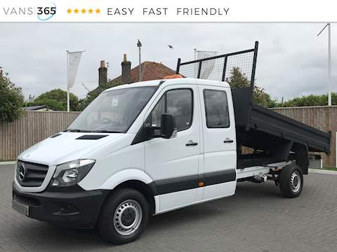 Mercedes-Benz Sprinter 313 2.1CDi MWB Crew Cab 2.1 4dr Tipper Manual Diesel
