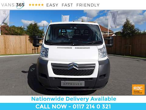 Citroen Relay 35 L3 Hdi Dropside Long Wheel-base 2.2 2dr Dropside Manual Diesel