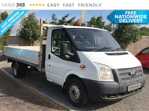 Ford Transit 2.2TDCi 350 Twin Rear Wheel 2.2 2dr Dropside Manual Diesel
