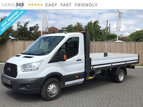 Ford Transit 3502.2TDCi L4 LWB 125PS 2.2 2dr Dropside Manual Diesel