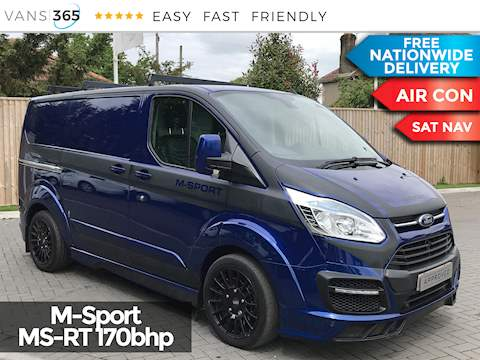 Ford Transit Custom 290 MS-RT L1 SWB 2.2TDCi 170bhp Limited Edition No.349 2.2 5dr Panel Van Manual Diesel