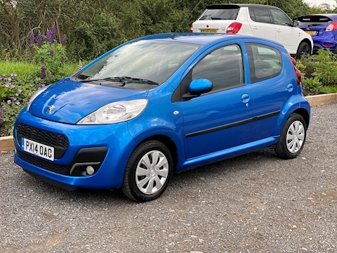 Peugeot 107 Active Hatchback 1.0 Manual Petrol