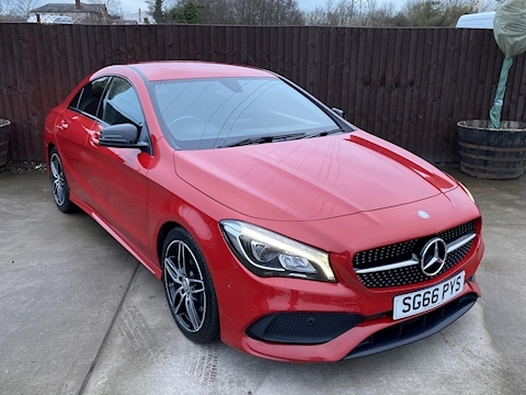 Mercedes-Benz CLA Class AMG Line Coupe 2.1 7G-DCT Diesel