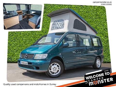 Automatic 4 Berth Campervan Reimo Roof Rear Conversion Massive Bed