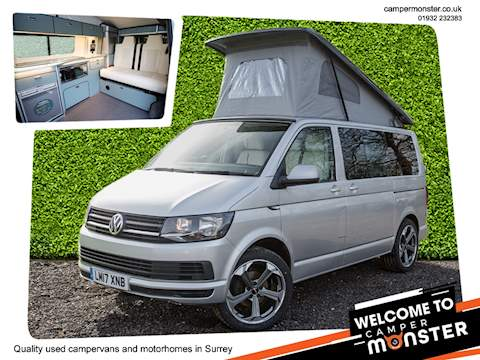 VW Transporter T6 4 BERTH CAMPERVAN NEW CONVERSION
