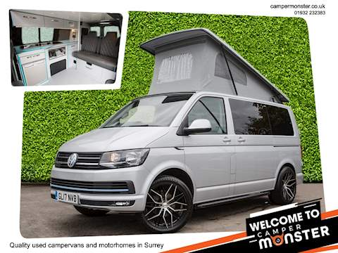 Volkswagen T6 Euro 6, 4 berth Campervan conversion