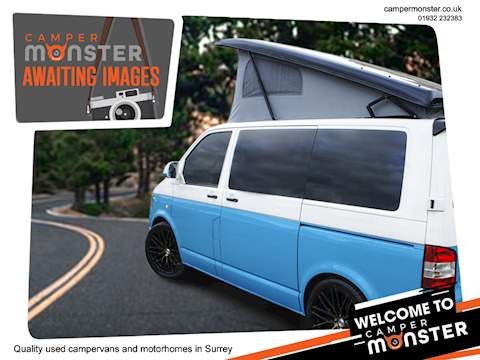 VOLKSWAGEN T6 4 Berth Camper New Conversion 150BHP