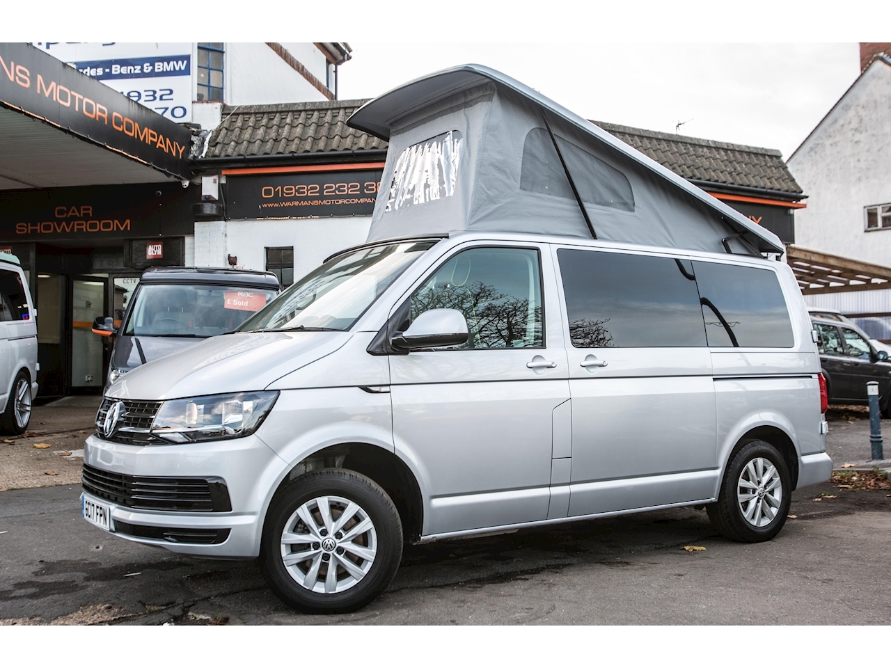 Transporter Campervan T28 Tdi 4 Berth Campervan 2.0 5dr Van Conversion Manual Diesel
