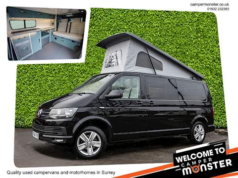 Volkswagen Transporter Campervan T30 HighLine Tdi 4 Berth Poptop