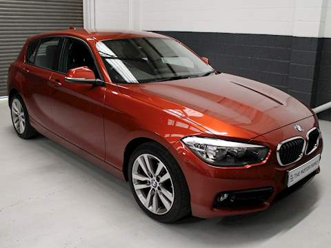 Bmw 1 Series 118I Sport Hatchback 1.5 Manual Petrol