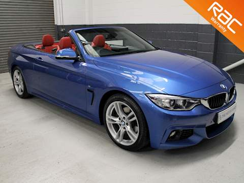 Bmw 4 Series Conv 2.0 420d (190) M Sport 2dr Auto (Professional Media) 2.0 2dr Convertible Automatic Diesel