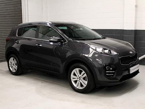 Kia Sportage 1.7 CRDi ISG 2 5dr 1.7 5dr Estate Manual Diesel