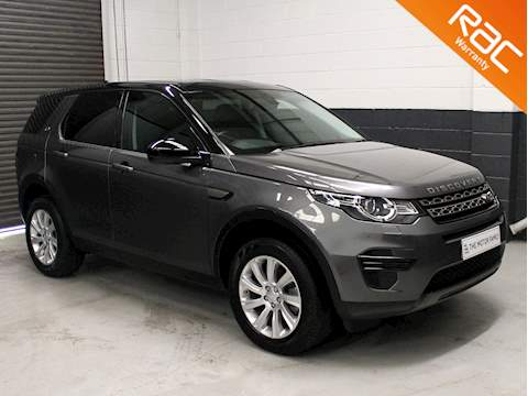 Land Rover Discovery Sport 2.0 TD4 180 SE 5dr Auto 4WD 2.0 5dr Estate Automatic Diesel
