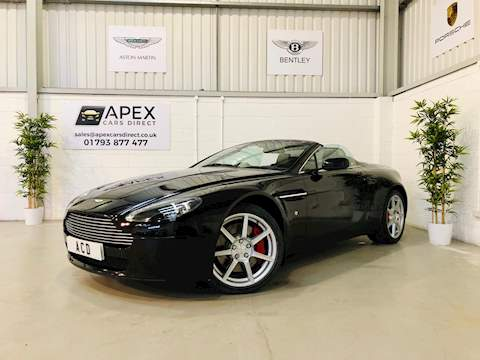Aston Martin Vantage V8 Roadster Convertible 4.3 Manual Petrol