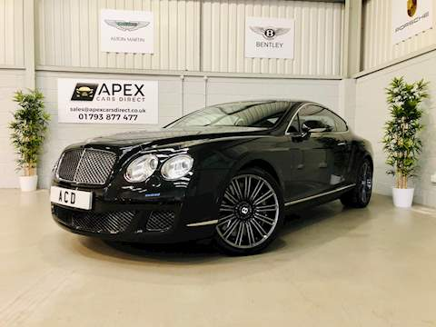 Bentley Continental Gt Speed 6.0 2dr Coupe Automatic Petrol