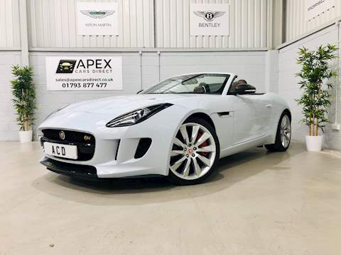 F-Type V6 S Awd Convertible 3.0 Automatic Petrol
